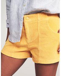 Faherty Brand Sleepaway Short - Yellow