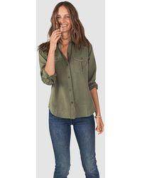 Faherty Brand - Desert Ridge Shirt- Olive - Lyst
