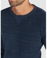 Faherty Brand - Dual Knit Crew - Lyst