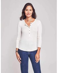 Faherty Brand Luxe Rib Natural Dyed Henley