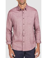 Faherty Brand Everyday Button-down Shirt - Pink