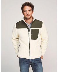 Faherty Brand Sherpa Zip Jacket - Multicolour