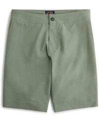 Faherty Brand Original All Day Short - Green
