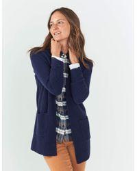 Faherty Brand Lumi Cashmere Cardigan - Blue