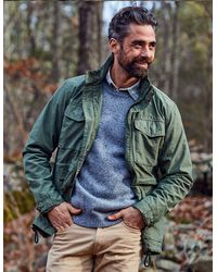 Faherty Brand Cooper M65 Jacket - Green