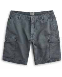 Faherty Brand Vintage Cargo Short - Gray