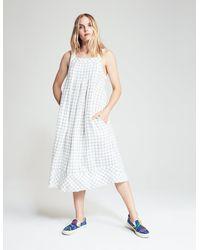 Faherty Brand Betsy Dress - White