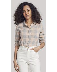 Faherty Brand Legendtm Sweater Shirt - Grey