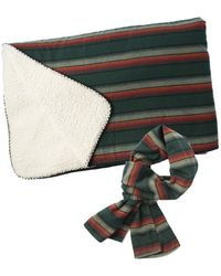 Faherty Brand - Aspen Sherpa Blanket & Shelter Scarf Pack - Lyst