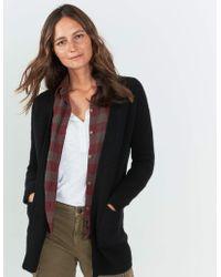 Faherty Brand Lumi Cashmere Cardigan - Black