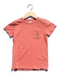 Faherty Brand Pacific Pocket Tee - Pink