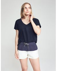 Faherty Brand Molly Short - Blue