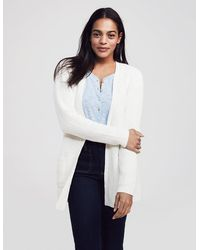 Faherty Brand Mix Stitch Cotton Blend Cardigan - Multicolor