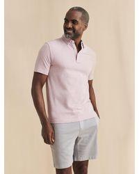 Faherty Brand - Movementtm Short-sleeve Polo - Lyst