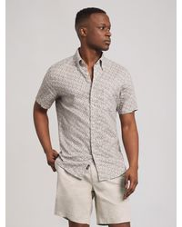 Faherty Brand - The Short-sleeve Breeze Shirt - Lyst