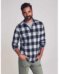 Faherty Brand - Legend Sweater Shirt - Lyst