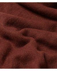 Falconeri Sciarpa cashmere light - Marrone