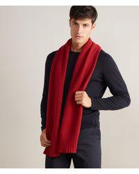 Falconeri Sciarpa in cashmere - Rosso