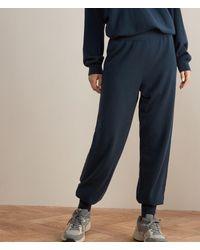 Falconeri Baggy-Hose aus Ultrasoft Cashmere - Blau
