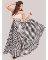 Fame & Partners The Elinor Skirt - White