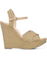 Fergie Belize Wedge Sandals - Metallic