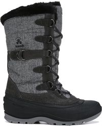 Kamik Snovalley 2 Waterproof Winter Boots - Gray