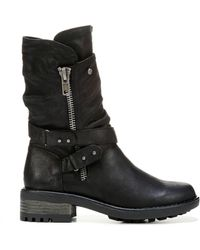 Carlos By Carlos Santana Sawyer Moto Boots - Black