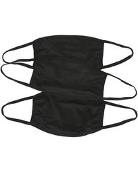 Sof Sole 3 Pack Classic Face Mask Accessories - Black