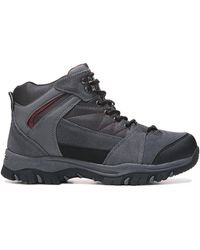 Deer Stags Anchor Waterproof Hiking Boots - Gray