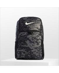 Nike - Brasilia Backpack In Black With Camo Print - Lyst