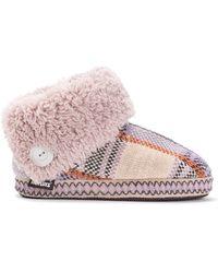 Muk Luks Melinda Bootie Slipper Accessories - Natural