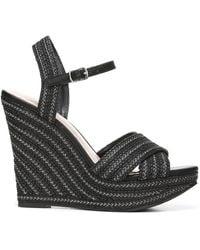 Fergie Belize Wedge Sandals - Black