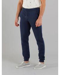Farah The Shalden Garment Dye Jersey Jogger - Blue