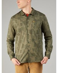 Farah - Alan Slim Fit Print Shirt - Lyst