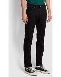 Farah Elm Regular Fit Black Stretch Jeans