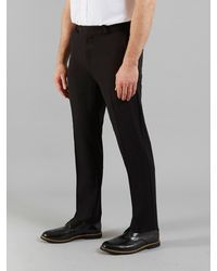 Farah Roachman 4 Way Stretch Trousers - Black