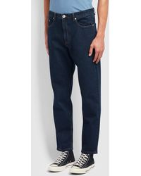 Farah Rushmore Tapered Fit Jeans - Blue