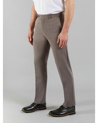 Farah Roachman 4 Way Stretch Trousers - Grey