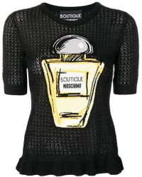Boutique Moschino - Perfume Bottle Knitted Top - Lyst