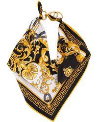 Versace Bandana mit Print - Gelb