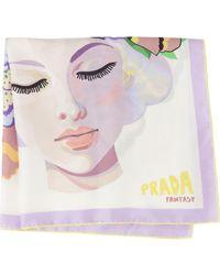 Prada ファンタジー スカーフ - マルチカラー