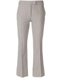 Akris Punto - Cropped Tailored Trousers - Lyst