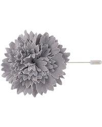 Lanvin Pin de clavel - Gris