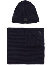 BOSS - Ensemble bonnet et écharpe - Lyst