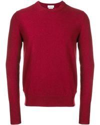 Ballantyne Jersey de cuello redondo - Rojo