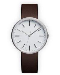 Uniform Wares M37 Precidrive Three Hand Watch - Brown