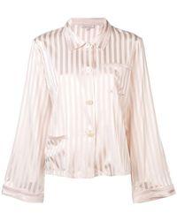 Morgan Lane - Striped Pyjama Top - Lyst