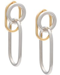 Alexander Wang Interlocked Earrings - Metallic