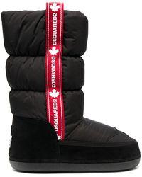DSquared² - Stivali da neve con logo - Lyst