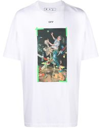 Off-White c/o Virgil Abloh - Pascal Painting Tシャツ - Lyst